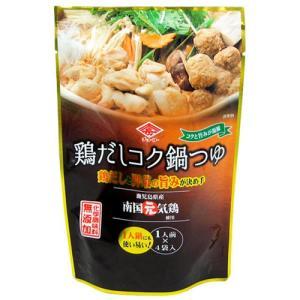 チョーコー醤油 鶏だしコク鍋つゆ 1人前(30ml)×4袋入|yoka1