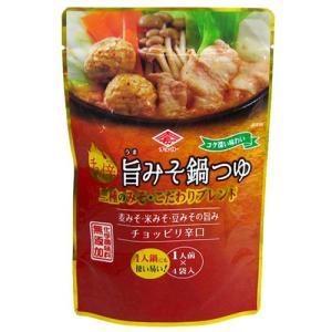チョーコー醤油 チョイ辛旨みそ鍋つゆ 1人前(30ml)×4袋入|yoka1