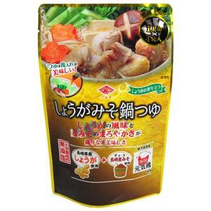 チョーコー醤油 しょうがみそ鍋つゆ 1人前(30ml)×4袋入 yoka1