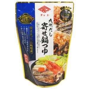 チョーコー醤油 九州だし寄せ鍋つゆ 1人前(30ml)×4袋入 yoka1