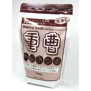 環境にやさしい洗浄剤、国産重曹100%! 重曹(国産)750g(Baking Soda)|yoka1