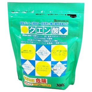 地の塩社 クエン酸 300g|yoka1