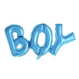 パーティーパーク ベビーシャワーBOY GIRL 男の子 女の子 文字アルミバールン 出産祝い ベビーシャワーパーティ|yokamonshouten