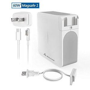 Salcar【PSE認証】60W MagSafe1 L字コネクタ Macbook Pro用 互換 AC 電源アダプタ PC 13.3 inch アップル 充電器 パワーサプラ yokamonshouten