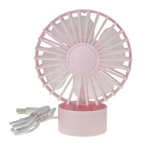 卓上扇風機 小型 usb 扇風機 強力 静音 4枚羽根 2段階調節 ミニファン せんぷうき 充電式扇風機 かわいい 向日葵 yokamonshouten
