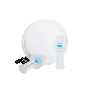 耳栓 気圧変動対応ハイテク 飛行機 旅行 空港 防音 安眠 水洗い可 抜群の遮音性 男子用 (標準)