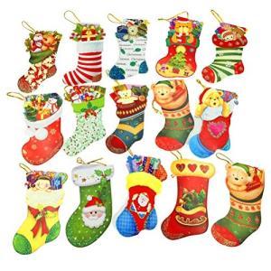 クリスマスカードセット グリーティングカード ミニポストカード サンタクロース 靴下 かわいい ツリー飾り|yokamonshouten