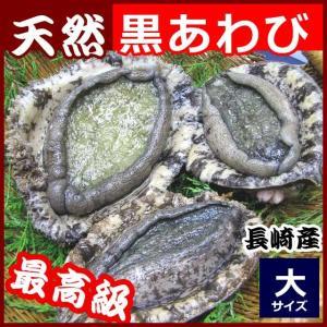 産直  天然黒アワビ 220g前後1枚 九州九十九島の豊かな自然で育ちました。新鮮黒あわび 同梱 お...