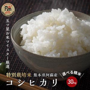 平成29年 熊本県阿蘇産 コシヒカリ 玄米30kg(10kg...