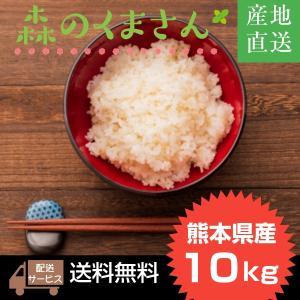 令和1年 熊本県産森のくまさん 精白米10kg 【送料無料】