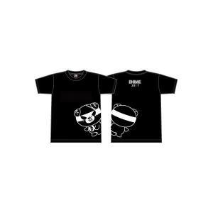 えひめ国体 ダークみきゃんTシャツ|yoko-buri
