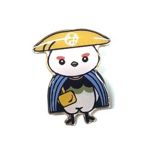 なび助 ピンバッジ コレクション ギフト 信州総文祭|yoko-buri