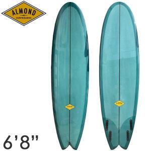 ALMOND アーモンド サーフボード BBF 6'8 クワッド フィッシュ BIG BUENO FISH yoko-nori