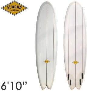ALMOND アーモンド サーフボード BBF 6'10 クワッド フィッシュ BIG BUENO FISH yoko-nori