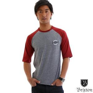 Brixton ブリクストン メンズ 5分丈 ハーフスリーブ ラグラン Tシャツ SPEEDWAY1/2|yoko-nori