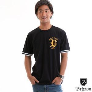 Brixton ブリクストン Tシャツ RAWSON S/S KNIT STANDARD FIT メンズ 半袖 トップス Tee 正規販売店 yoko-nori
