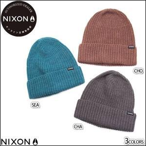 NIXON ニクソン 帽子 ニット帽 ビーニー メンズ レディース GO Beanie 正規販売店 3色バリ yoko-nori