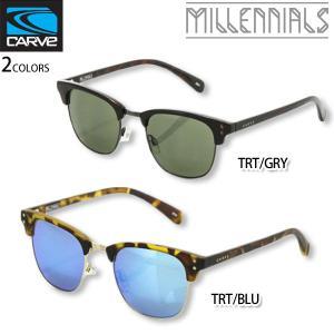 CARVE Sunglasses カーブ サングラス MILLENNIALS ミレニアムズ ミラーレンズ UVカット|yoko-nori