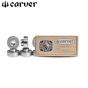 carver カーバー スケートボード ビルトインスペーサーベアリングセット Carver Abec 7 Built-In Bearings yoko-nori