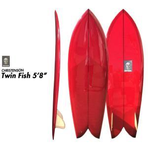 CHRISTENSON クリステンソン サーフボード TWIN FISH 5'8