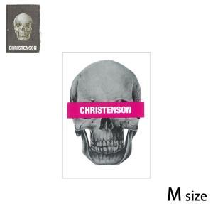 CC クリステンソン SKULL ステッカー STICKER/CC5200006/M|yoko-nori