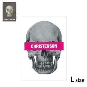 CC クリステンソン SKULL ステッカー TICKER/CC5200002/L|yoko-nori