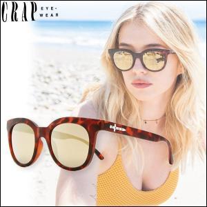 CRAP EyeWear クラップ サングラス タートイズ べっこう UVカット