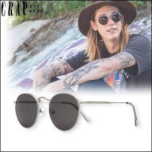 CRAP EyeWear クラップ サングラス ワイヤーフレーム ラウンド型 UVカット