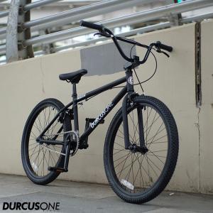 "BMX DURCUSONE BIKES ダーカスワン ""H-STREET"" 24インチ マットブラック 自転車|yoko-nori"