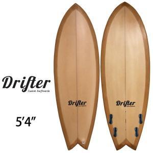 DRIFTER EPS サーフボード QUAD FISH 5'4