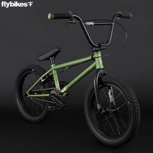 【一部地域送料無料】キッズBMX FLYBIKES フライバイクス 2021 NEO16 グリーン ストリート 自転車 16インチ|yoko-nori