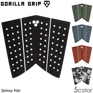 【在庫一掃 SALE】Gorilla Grip ゴリラグリップ デッキパッド SKINNY FISH...