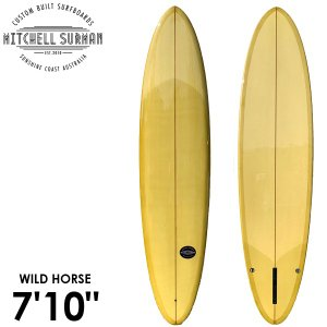 MS SURFBOARDS エムエスサーフボード WILD HORSE NARROW 7'10