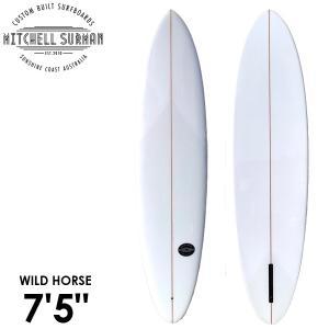 MS SURFBOARDS エムエスサーフボード WILD HORSE NARROW 7'5