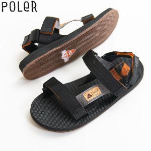 POLER ポーラー キャップ 耳当て 5パネル 刺繍ロゴ|yoko-nori