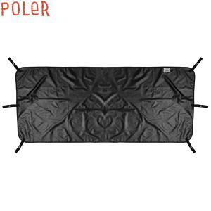 POLER ポーラー バケット ハット 帽子 メンズ メッシュ アウトドア LUNCHPAIL BUCKET HAT ロゴ ストラップ UVカット 正規販売店|yoko-nori