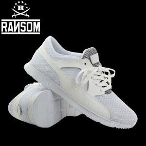 RANSOM/正規販売店 ●アクティブな大人の足元を上品に演出する、クロコダイルパネルが目を惹くスポ...
