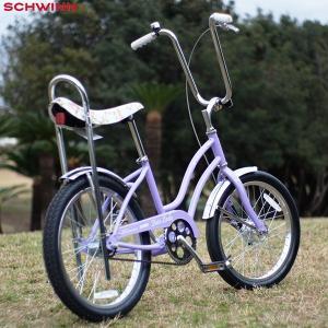 "SCHWINN 2020 シュウィン""FAIRLADY"" パープル 20インチ ビーチクルーザー 自転車|yoko-nori"