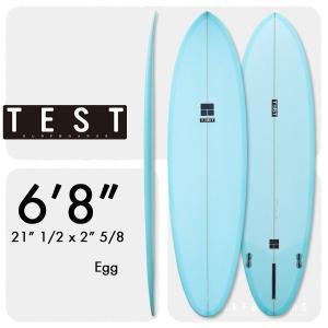 テストサーフボード TEST EGG 6'8