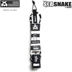 XMリーシュ SEA SNAKE 海ヘビ ●サメが嫌がり避けるという、有毒のウミヘビの縞模様から作ら...