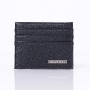 アルマーニジーンズ(ARMANI JEANS) カードケース ブラック 【正規取扱店】|yokoaunty