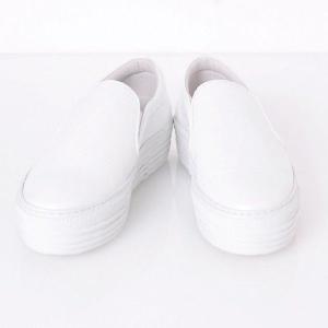 ジョシュアサンダース(joshua sanders) 上げ底シューズ スタンプレザー ホワイト 【正規取扱店】|yokoaunty
