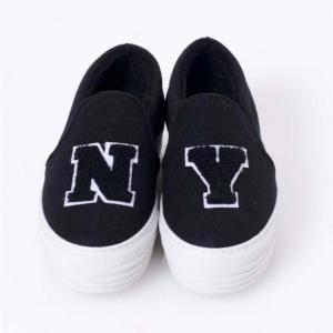 ジョシュアサンダース(joshua sanders) NYボアスリッポン フェルト ブラック 【正規取扱店】|yokoaunty