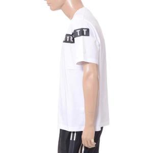 30% OFF ニールバレット Neil Barrett ブラックバレットバイニールバレット black barrett by neil barrett コアロゴクルーネック半袖Tシャツ コットン ホワイト yokoaunty 02