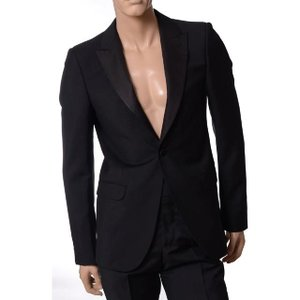 30% OFF アレキサンダーマックイーン(Alexander McQueen) タキシードジャケット ウール ブラック 【正規取扱店】|yokoaunty