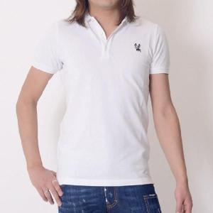 30% OFF ディースクエアード Dsquared2 ポロシャツ チロワッペンワンポイント ホワイト 【正規取扱店】|yokoaunty