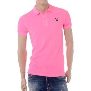30% OFF ディースクエアード(Dsquared2) ポロシャツ チロワッペンポイント ピンク 【正規取扱店】|yokoaunty