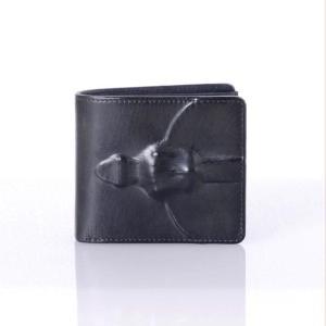 ミハラヤスヒロ(MIHARAYASUHIRO) 二つ折り財布 マッドブラック|yokoaunty