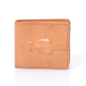 ミハラヤスヒロ(MIHARAYASUHIRO) 二つ折り財布 ブラウン 【正規取扱店】|yokoaunty