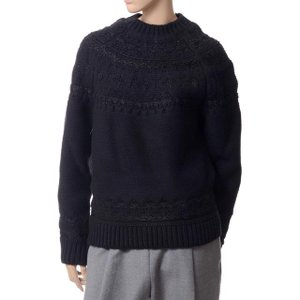 アレキサンダーマックイーン(Alexander McQueen) セーター ブラック|yokoaunty